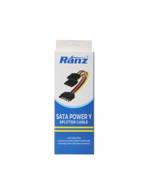 RANZ POWER CABLE FOR DVR NVR SATA
