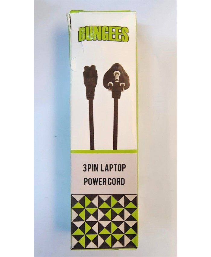 BUNGEES LAPTOP POWER CABLE 1.5M (1 YEAR)