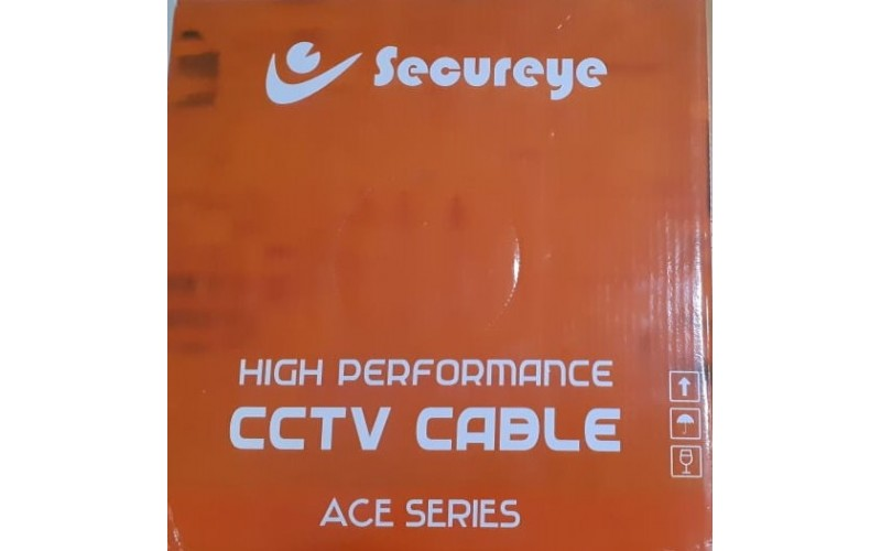 CCTV CABLE 3+1 SECUREYE 90M ACE SERIES