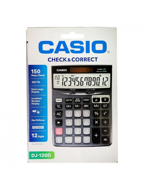 CASIO CALCULATOR DJ 120D