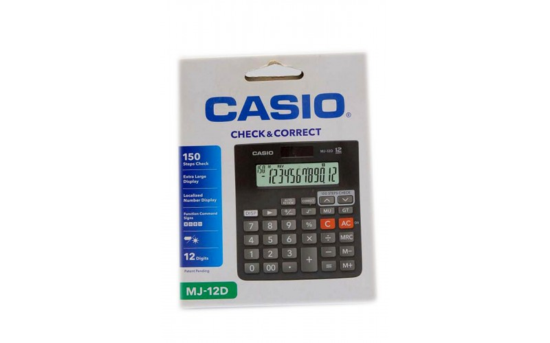 CASIO CALCULATOR MJ 12D