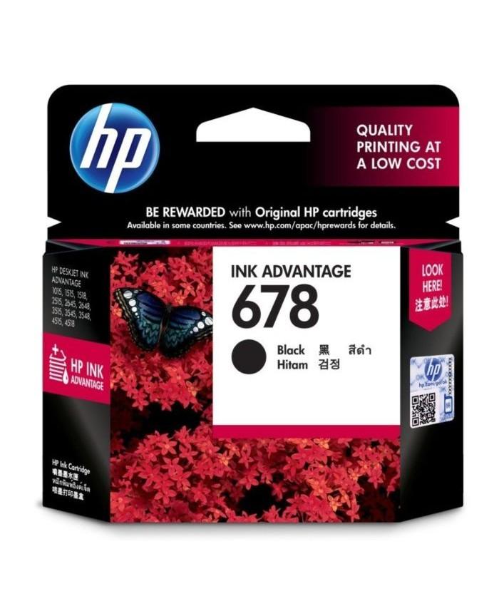 HP INK CARTRIDGE 678 BLACK (ORIGINAL)
