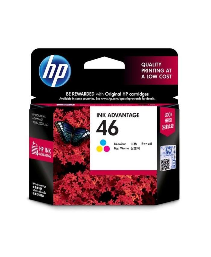 HP INK CARTRIDGE 46 TRI-COLOR (ORIGINAL)