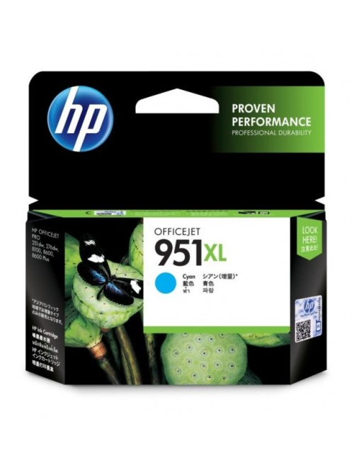 HP INK CARTRIDGE 951XL CYAN OFFICE JET (ORIGINAL)