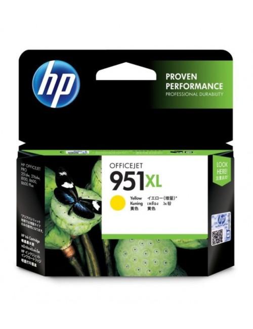 HP INK CARTRIDGE 951XL YELLOW OFFICE JET (ORIGINAL)