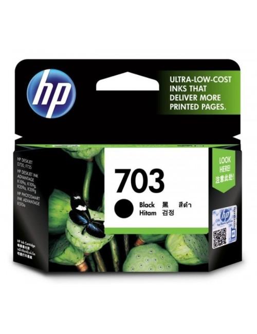 HP INK CARTRIDGE 703 BLACK DESK JET (ORIGINAL)