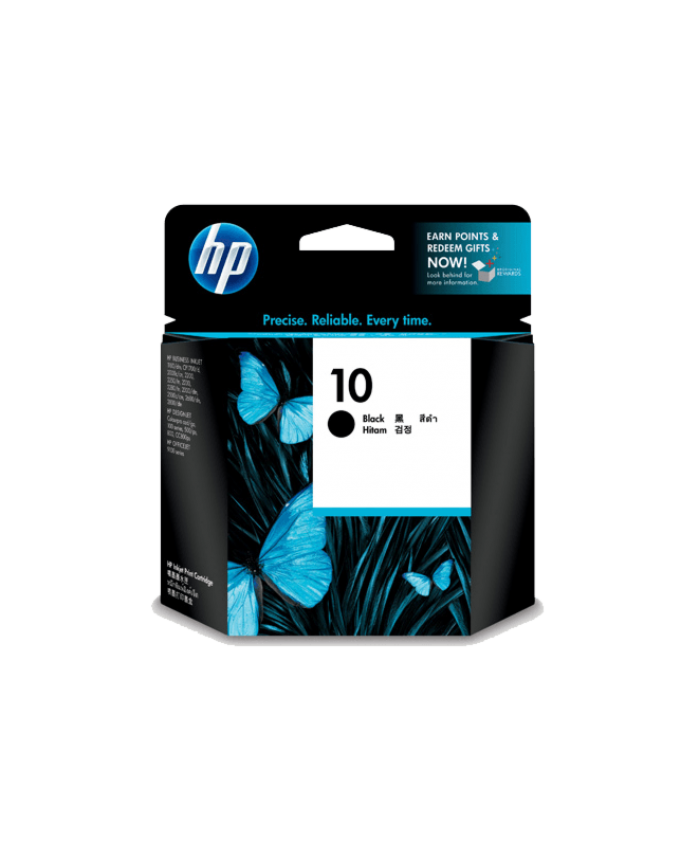 HP INK CARTRIDGE 10 BLACK (ORIGINAL)