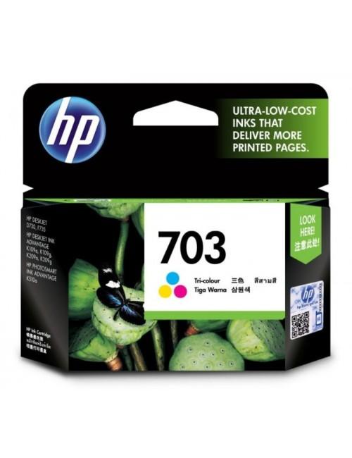 HP INK CARTRIDGE 703 TRI-COLOR (ORIGINAL)