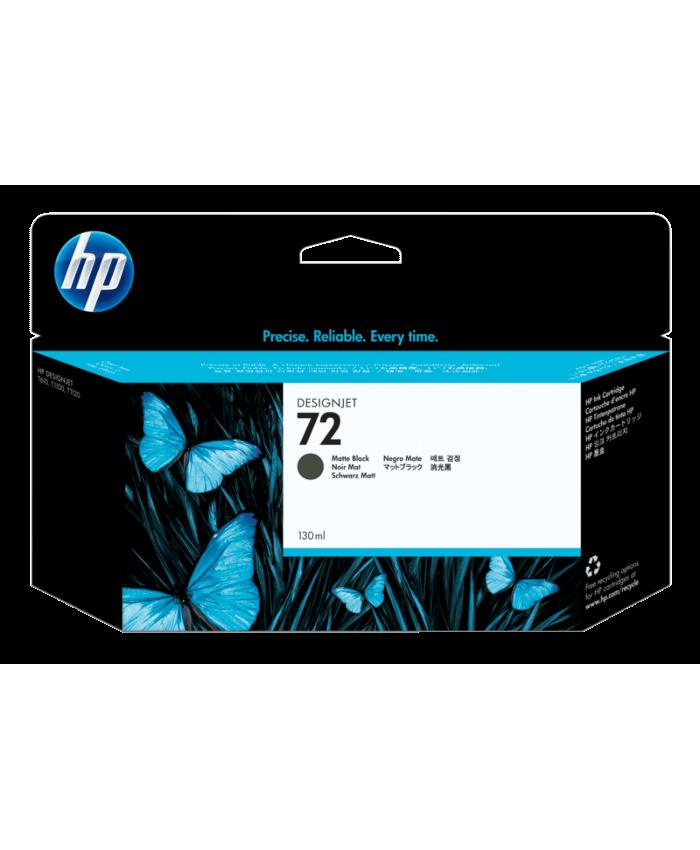 HP INK CARTRIDGE DESIGN JET 72 130 ML MATTE BLACK (ORIGINAL)