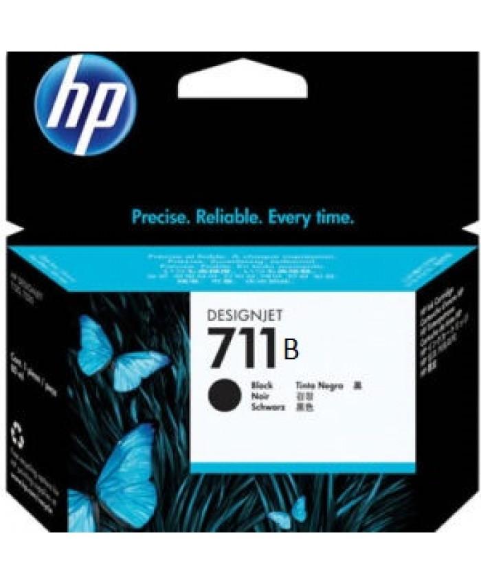 HP UK INK CARTRIDGE 711B 38ML BLACK (ORIGINAL)