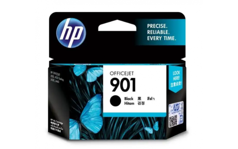 HP INK CARTRIDGE 901 BLACK OFFICE JET (ORIGINAL) CF653AA