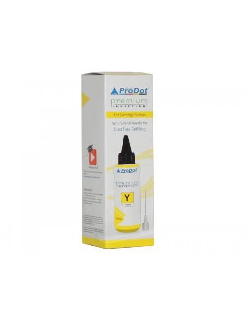 PRODOT INKJET INK FOR HP YELLOW (RI-CART-H05-DY) / HP CART 22 / 46 / 57 / 678 / 680 / 703 / 704 / 802 / 803 / 818