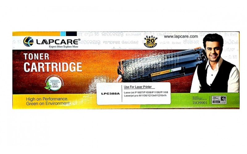 LAPCARE TONER CARTRIDGE 388A / 88A