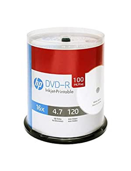 HP DVD-R WHITE PACK OF 100
