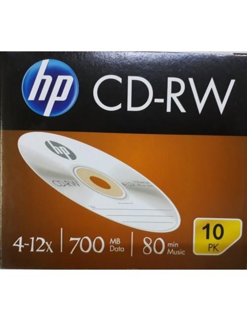 HP CD-RW PACK OF 10