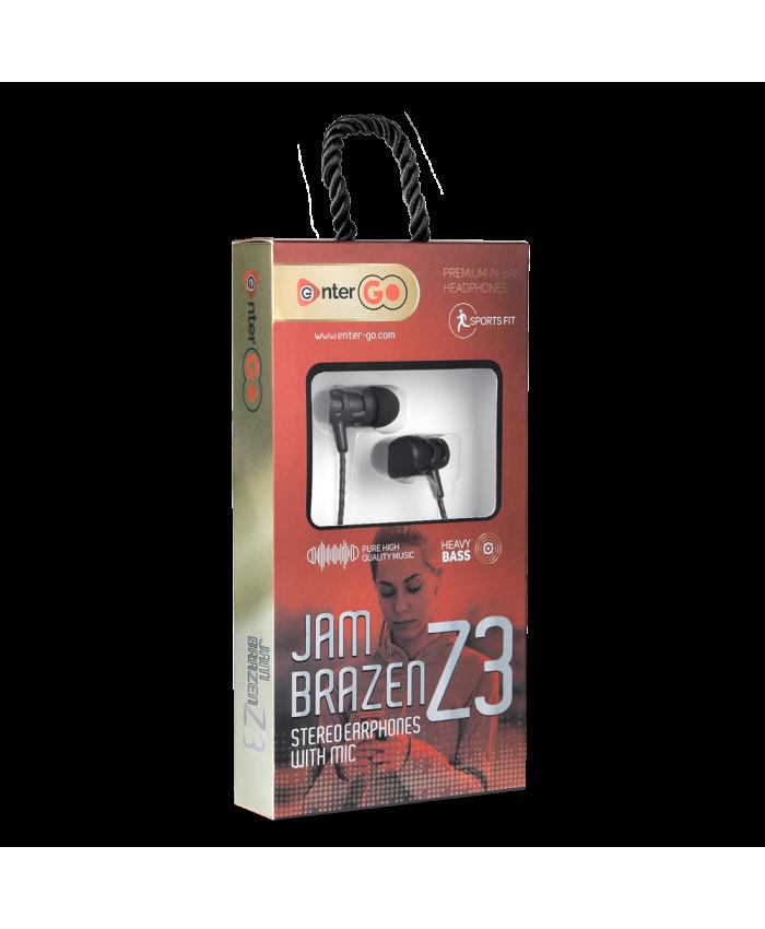 ENTERGO WIRED EARPHONE JAM BRAZEN Z3