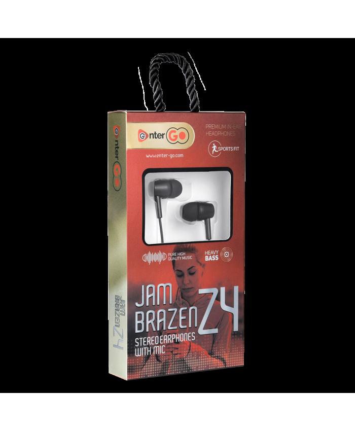 ENTERGO WIRED EARPHONE JAM BRAZEN Z4