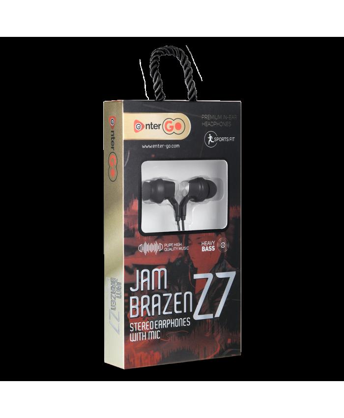ENTERGO WIRED EARPHONE JAM BRAZEN Z7