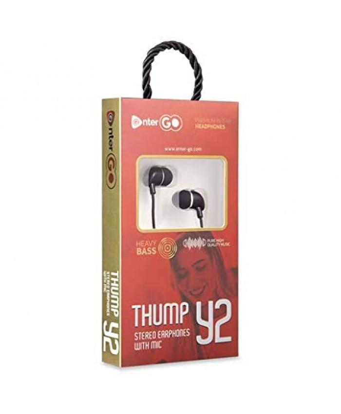 ENTERGO WIRED EARPHONE THUMP Y2