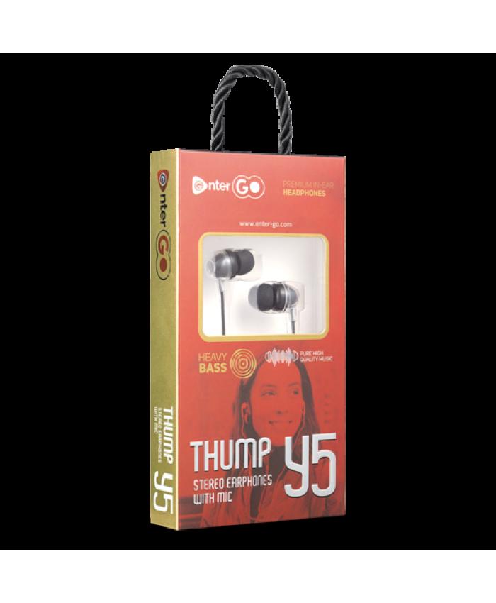 ENTERGO WIRED EARPHONE THUMP Y5
