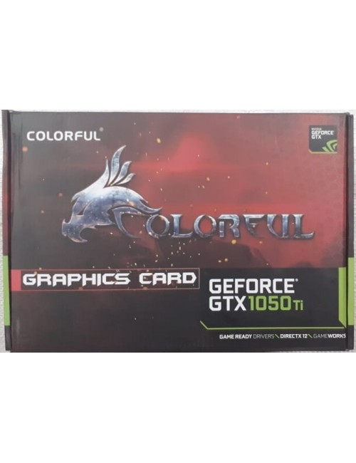 COLORFUL GTX 1050TI 4GB DDR5 4G V (DUAL FAN)