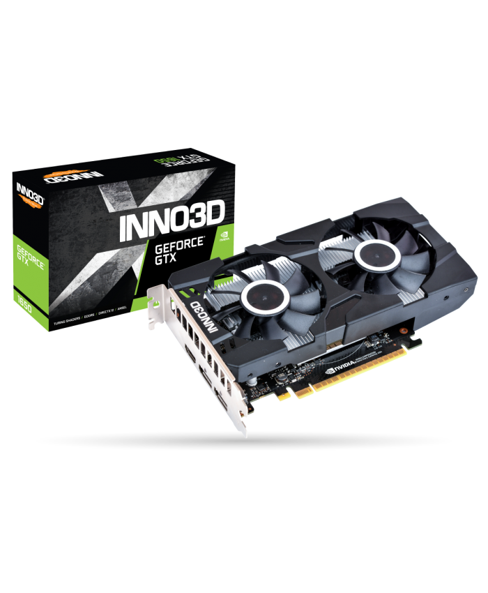INNO3D GTX 1650 4GB GDDR6 (DUAL FAN)