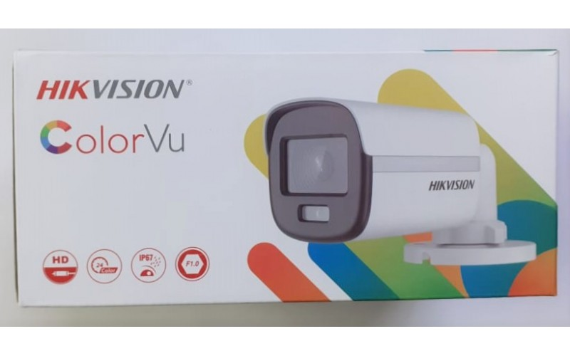 HIKVISION BULLET 2MP NIGHT COLOUR (10DF0T PF) 3.6MM