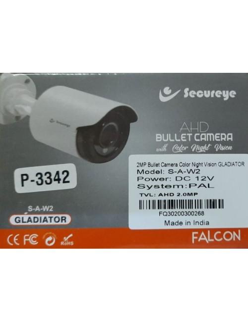 SECUREYE BULLET 2MP GLADIATOR 3.6MM (NIGHT COLOR VISION)