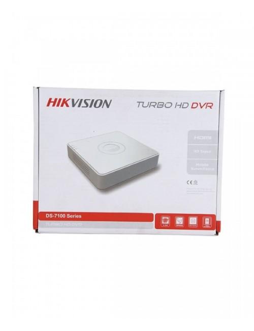 HIKVISION DVR MINI 4CH 2MP (7A04HQHIK1)