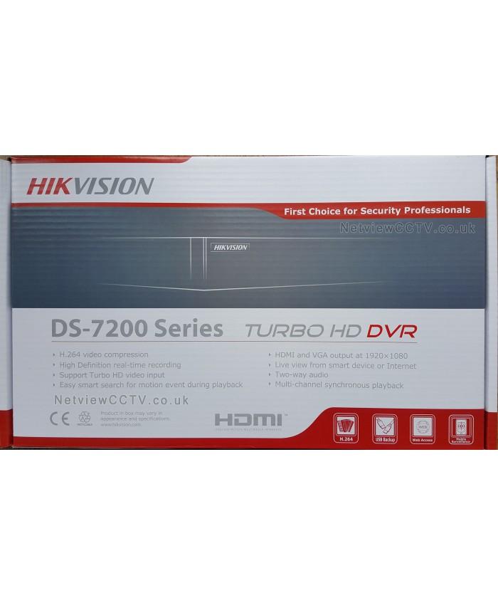 HIKVISION 16 CH METAL 2 MP (7B16HQHI K1)