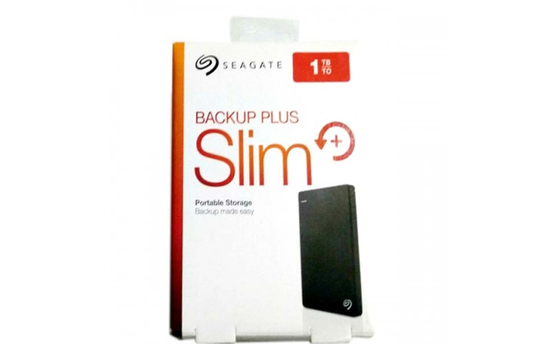 SEAGATE BACKUP PLUS SLIM 1 TB 2.5""