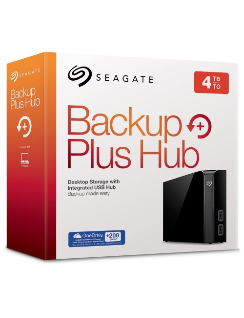 """SEAGATE BACKUP PLUS HUB 4 TB 3.5"""" (WITH ADAPTER)"""