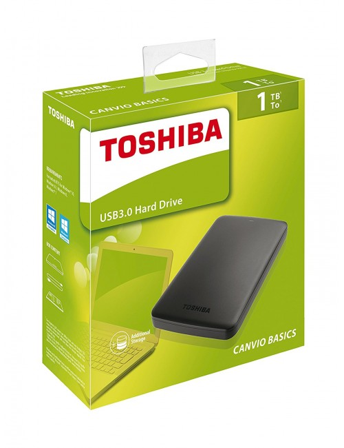 TOSHIBA CANVIO READY 1 TB 2.5""