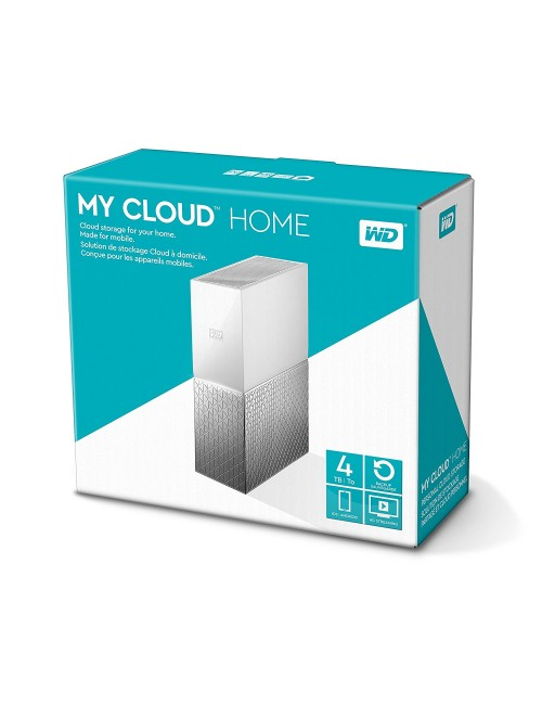 """WD MY CLOUD HOME 4 TB 3.5"""" (WITH ADAPTER)"""