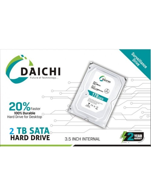 DAICHI PULLOUT INTERNAL HARD DISK 2TB (2 YEAR) DESKTOP