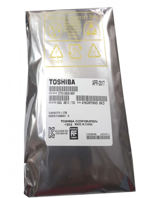 TOSHIBA INTERNAL HARD DISK 1TB VIDEO