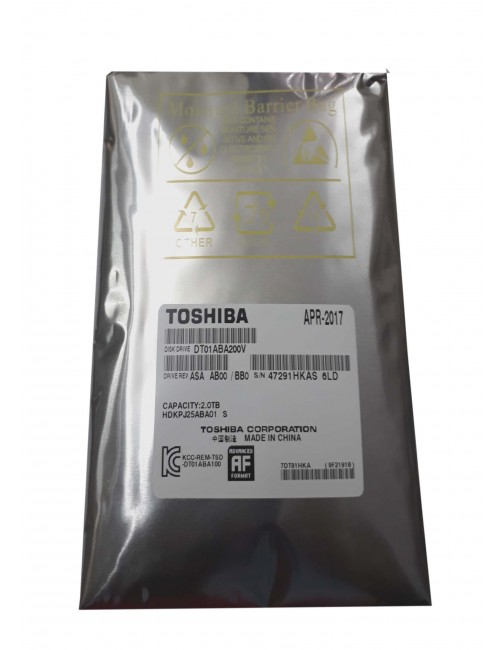 TOSHIBA INTERNAL HARD DISK 2TB VIDEO