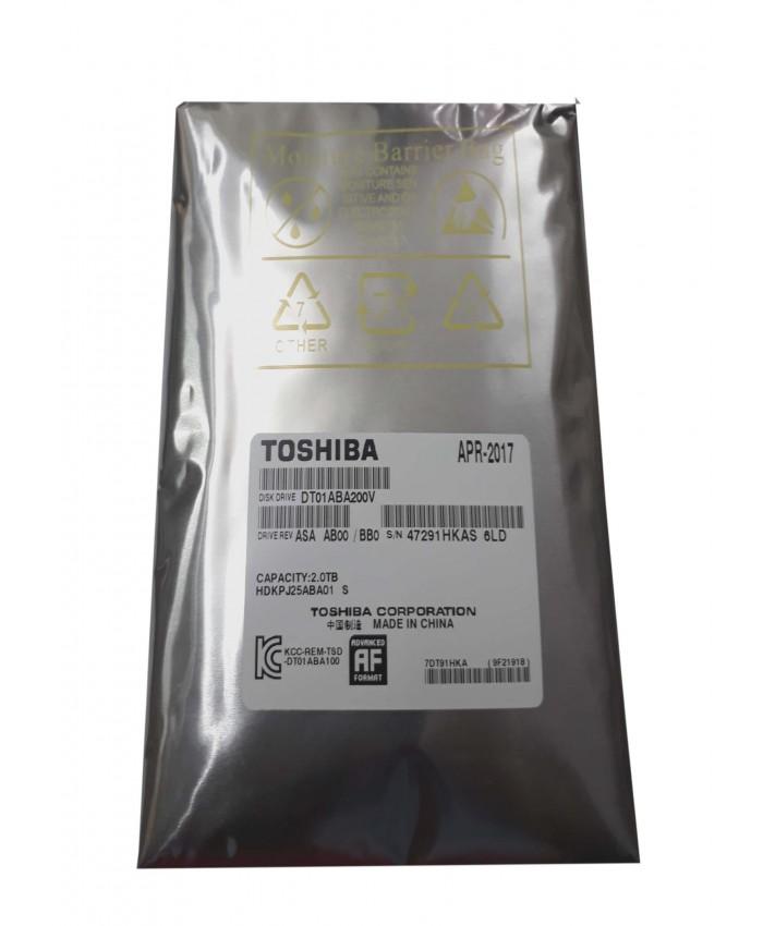 TOSHIBA INTERNAL HARD DISK 2TB VIDEO