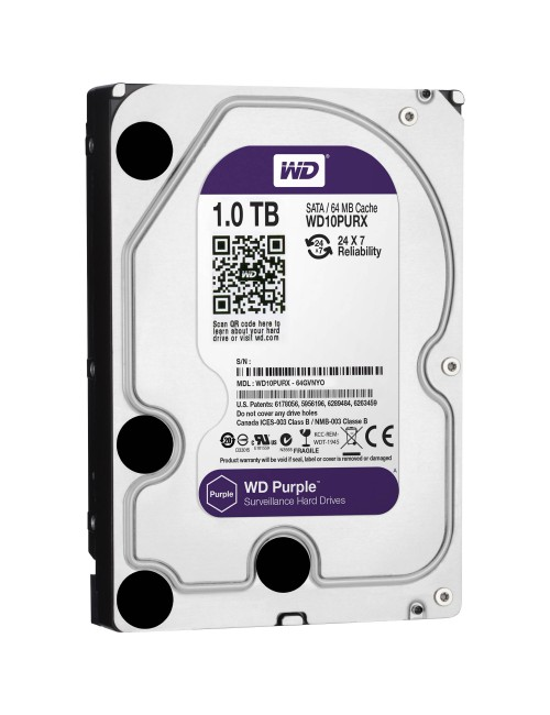 WD INTERNAL HARD DISK 1TB PURPLE