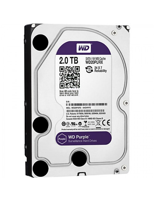 WD INTERNAL HARD DISK 2TB PURPLE