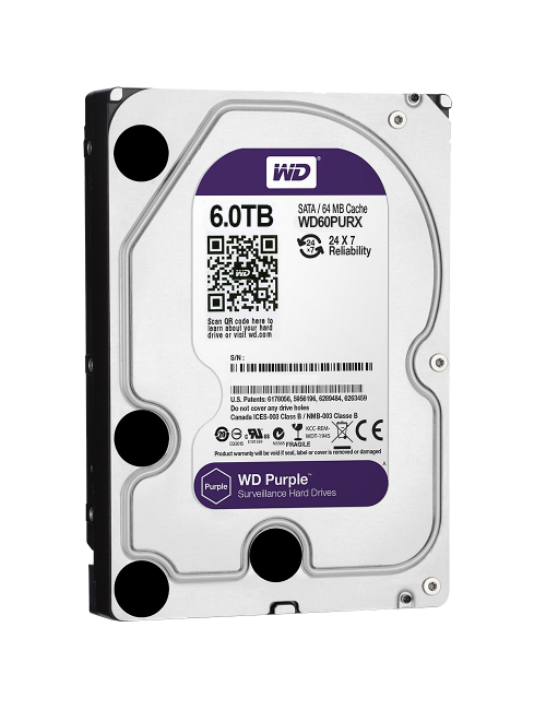 WD INTERNAL HARD DISK 6TB PURPLE