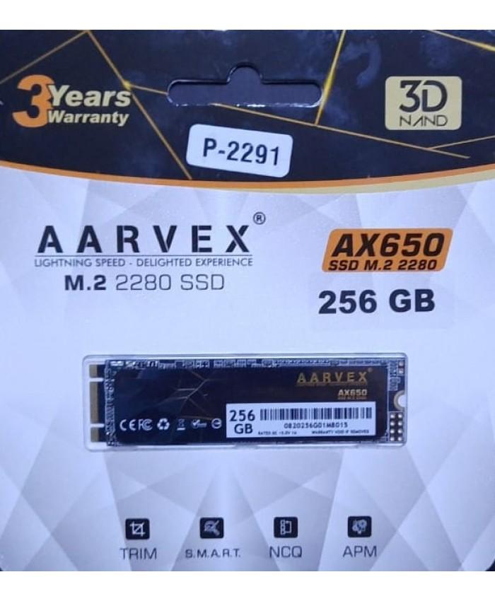 AARVEX SSD 256GB M.2 (AX650)