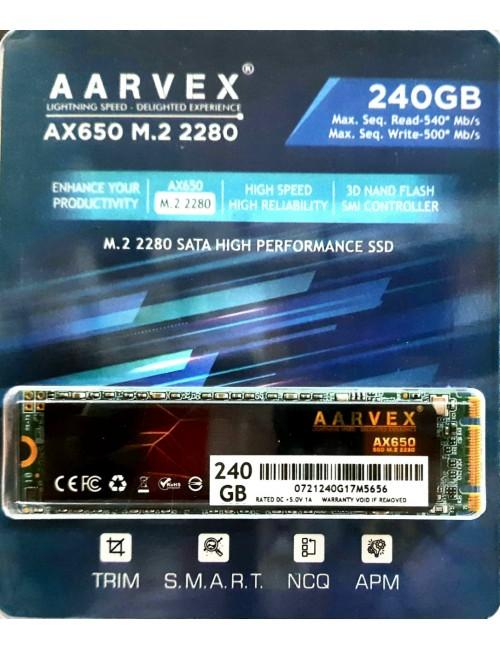 AARVEX SSD 240GB M.2 (AX650)