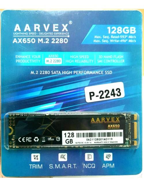 AARVEX SSD 128GB M.2 (AX650)