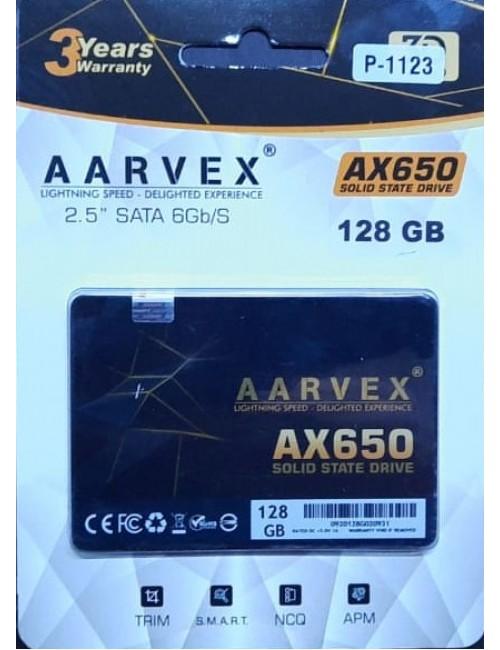 AARVEX SSD 128GB SATA (AX650)