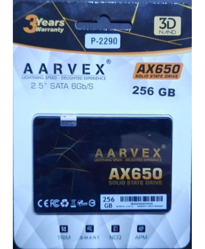 AARVEX SSD 256GB SATA (AX650)