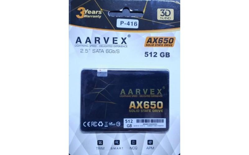 AARVEX SSD 512GB SATA (AX650)