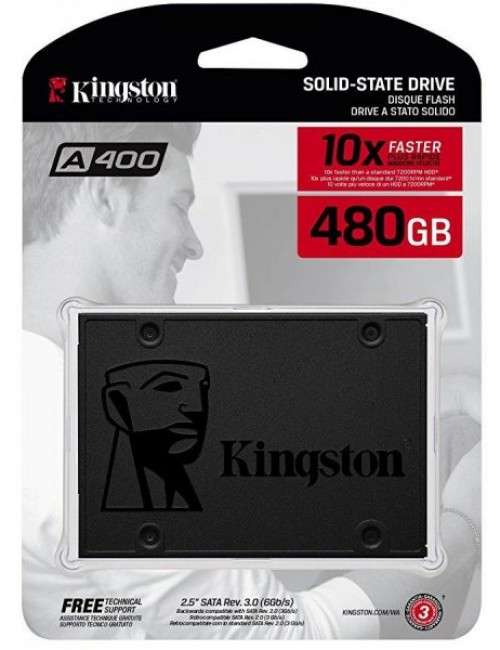 KINGSTON SSD 480GB (A 400)