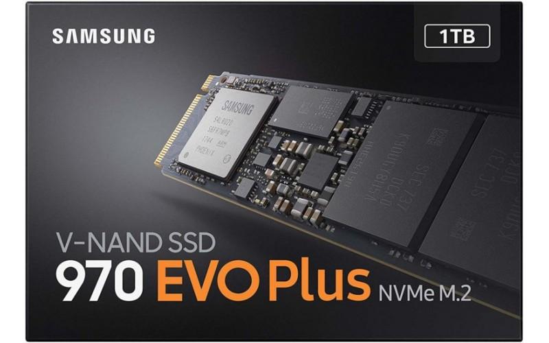 SAMSUNG SSD 1TB NVME (970 EVO)