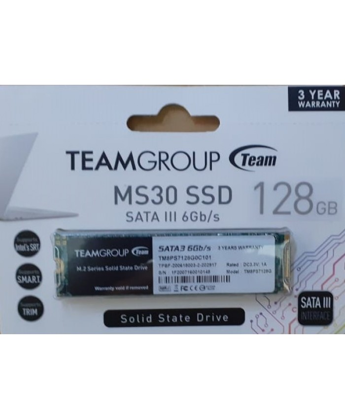 TEAMGROUP SSD 128GB M.2 (MS30)